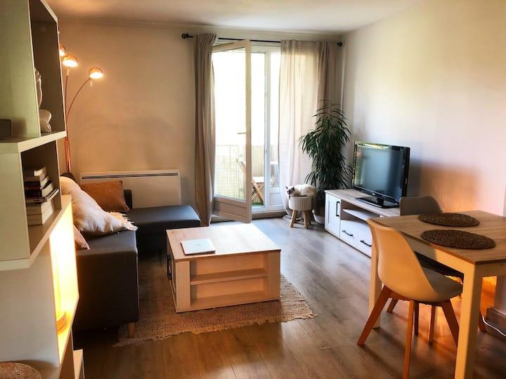 Appartement F3 Chaleureux