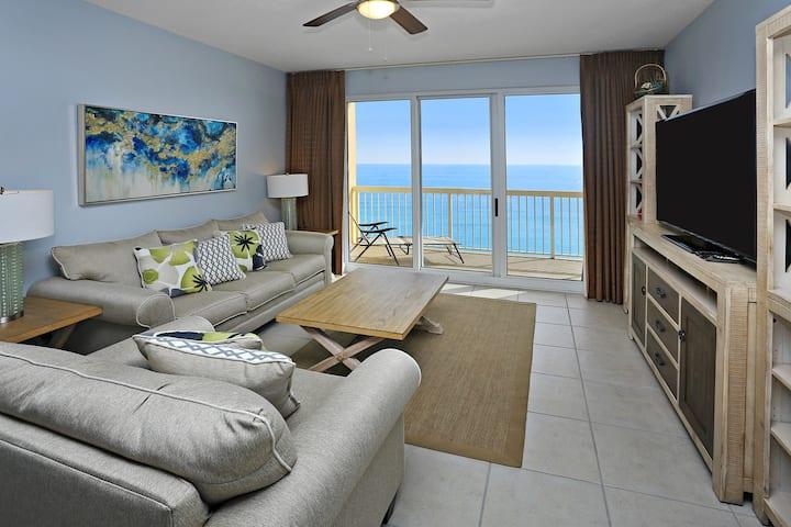 3BR/2BA Beach Front Condo-1608E-Amazing Gulf View!