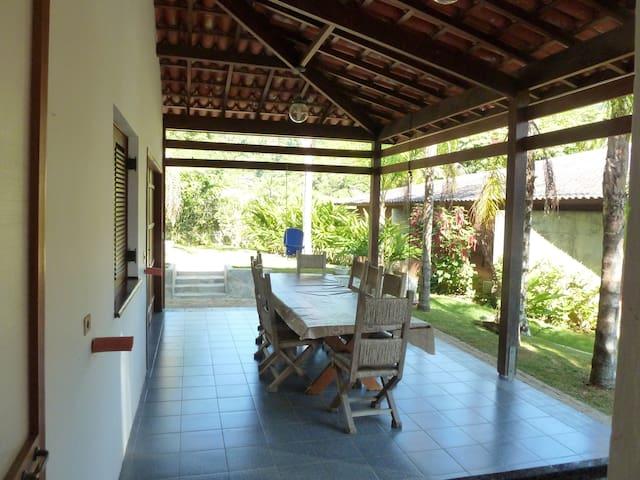 Casa na Praia do Pulso - Condomínio, Ubatuba