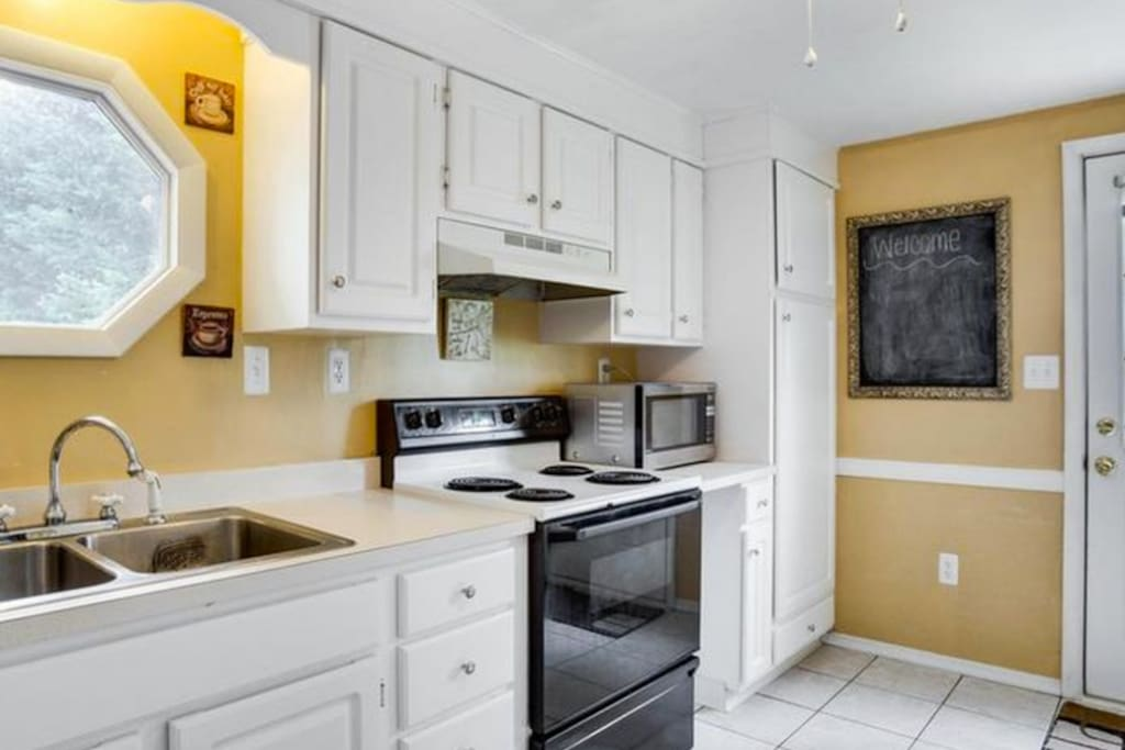 Updated Kitchen with full amenities