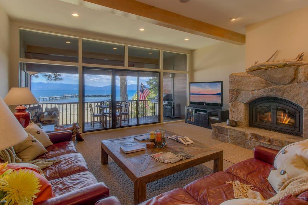 Living Room/Back Deck