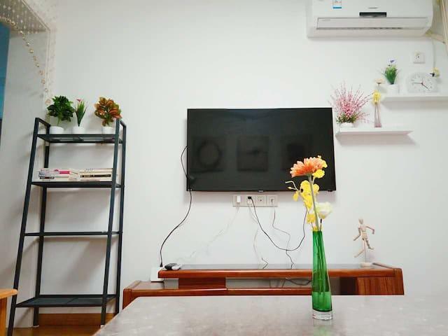 无锡汽车站/火车站旁  近地铁1号线  舒适2房 可住4人 - Wuxi - Apartment
