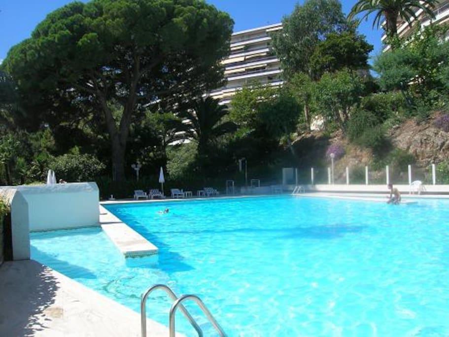Studio residence de luxe vue mer piscine tennis - Appartement de luxe studio schicketanz ...