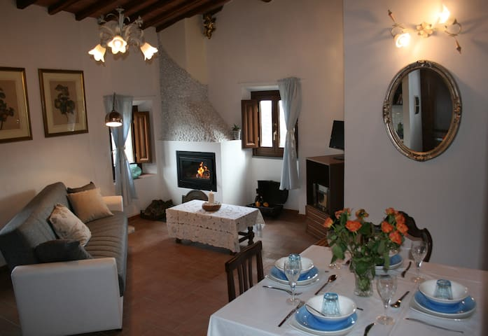 2 bed apartment in cottage Tuscany - Cavriglia - Maison
