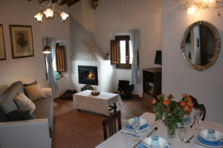 2 bed apartment in cottage Tuscany - Cavriglia