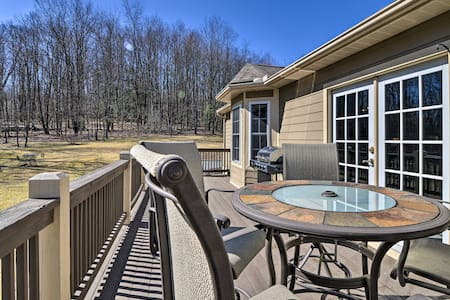 NEW! Private Family Home w/ Deck + Forest Views!