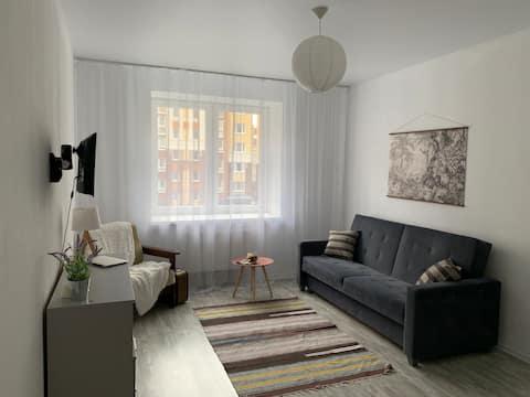 Уютная квартира на первой линии в г. Зеленоградск