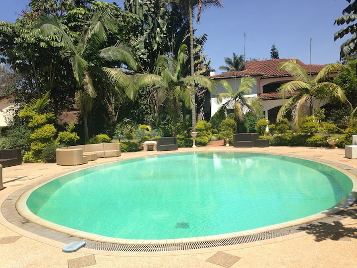 Tropical escape in a Nairobi suburb
