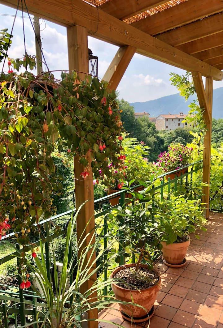 La Casa  Rosa di Segusino UNESCO Zone (Charme)