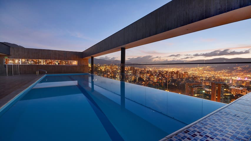 Stunning condominium in El Poblado - Medellin(1) - Medellín - Apartament