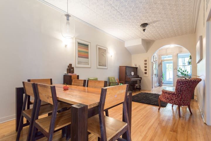 Gorgeous, Large Mile End Home - Montreal - Apartamento