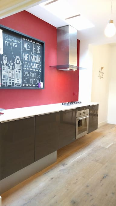 Large kitchen to cook  your lovely food