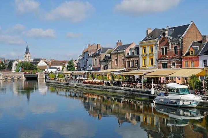 T2 Atypique proche centre ville - Amiens - Bed & Breakfast