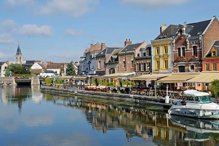 T2 Atypique proche centre ville - Amiens - Bed & Breakfast