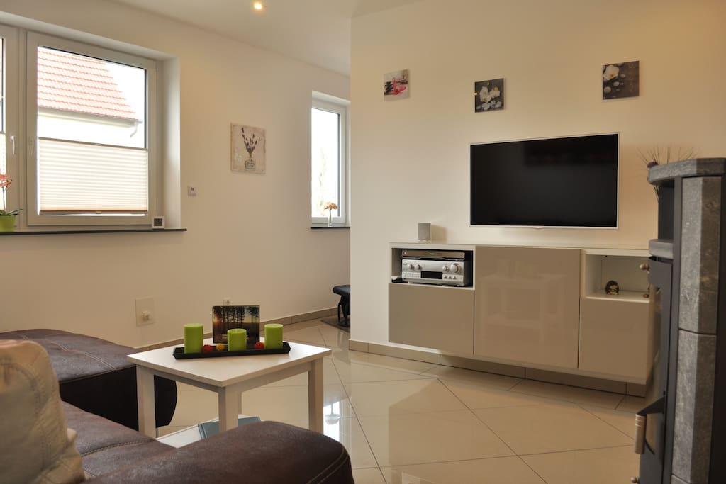 ferienwohnung in gehlberg mit sauna und kamin wohnungen zur miete in gehlberg th ringen. Black Bedroom Furniture Sets. Home Design Ideas