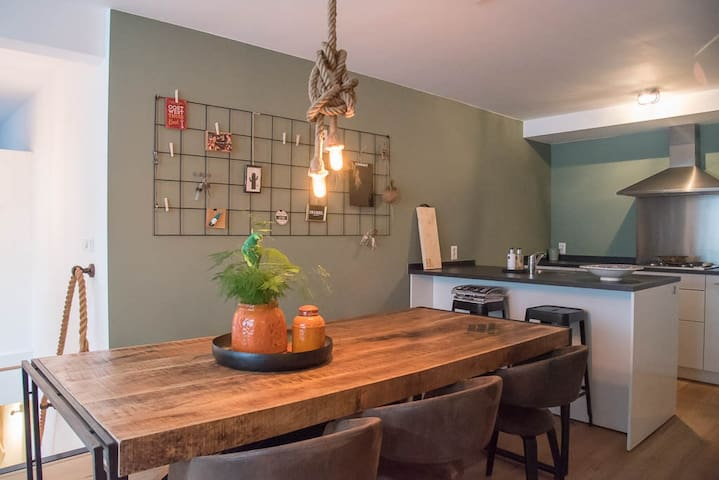 New Apartment with Garden, in the Centre! - Utrecht - Byt