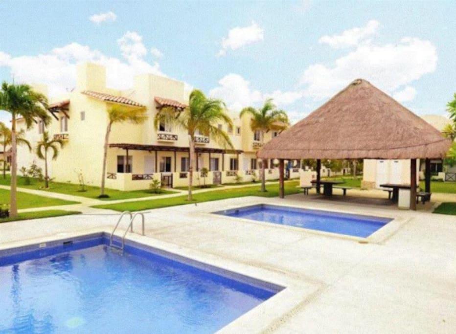 Villa cardiel villas louer playa del carmen for Villas quintana roo