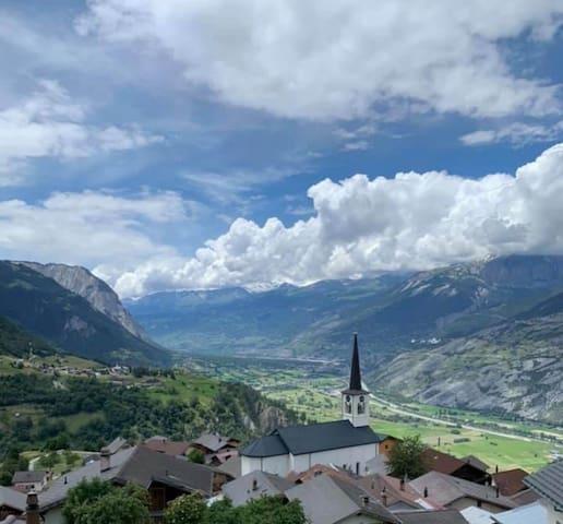 Panorama Ergisch