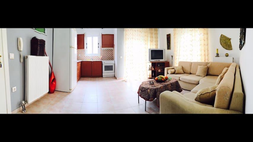 Spacious cosy apartment - Halkidiki - Daire