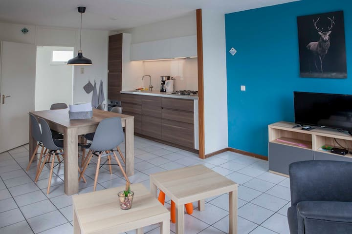 Appartement Beach, Tulips, Dunes and Countrysite
