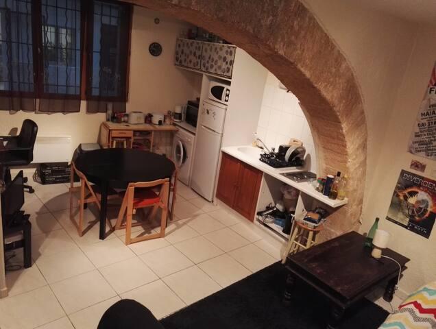 Studio de 30m² en centre ville - Montpellier - Loft
