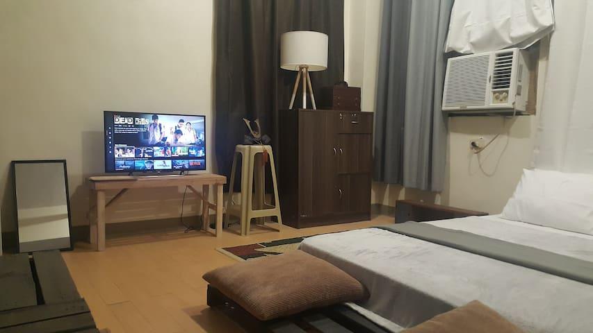 ベッドルームエリア