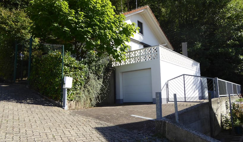 Häuschen im Grünen Pfälzer Wald/Dahner Felsenland