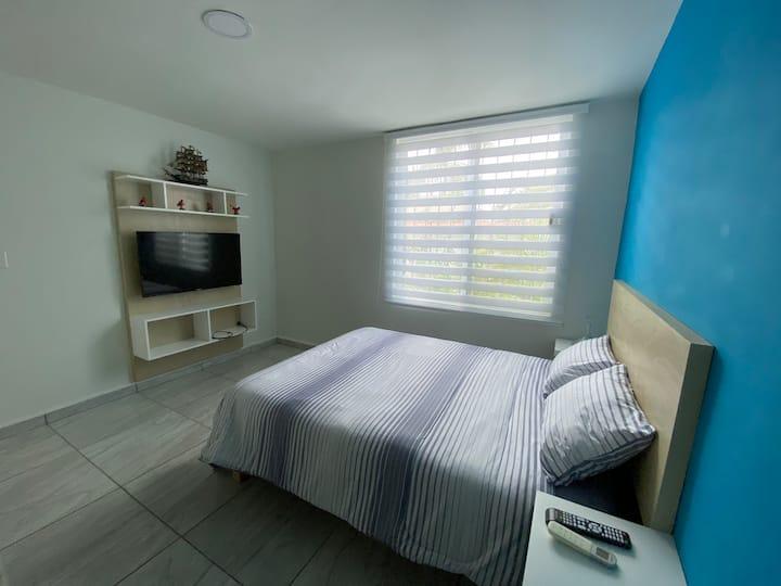 "La casa bonita, ""Bacalar Studio"""