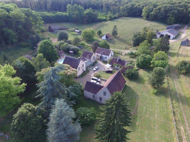 Gîte-Rétro-Yonne - Saint-Julien-du-Sault - Hus
