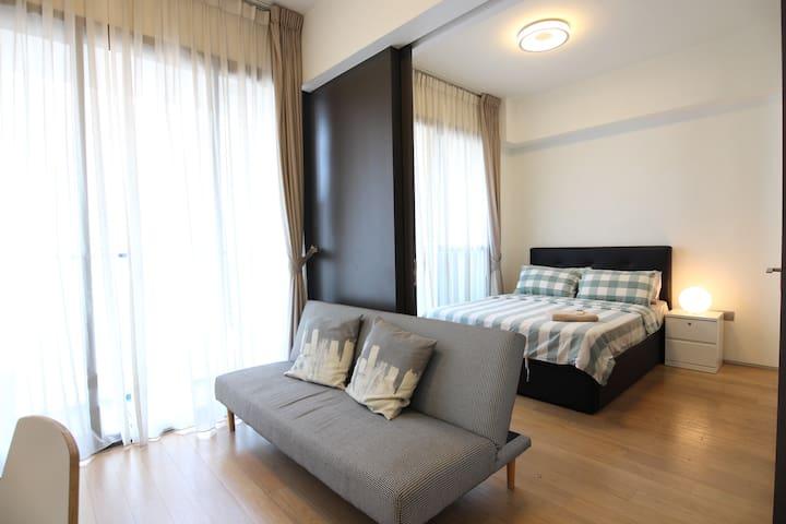 Fully furnished CBD 1BR apartment , Near to marina