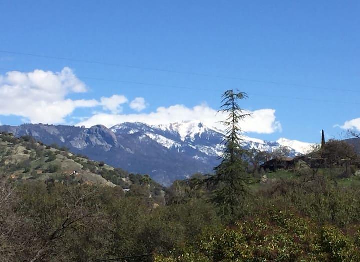 Sequoia Chalet ~ Sequoia National Park is Open!