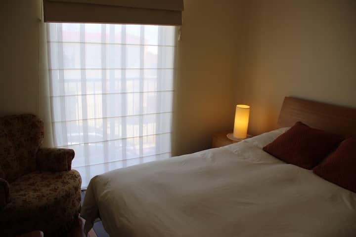 Habitación Matrimonial con Vista al Mar y Balcón