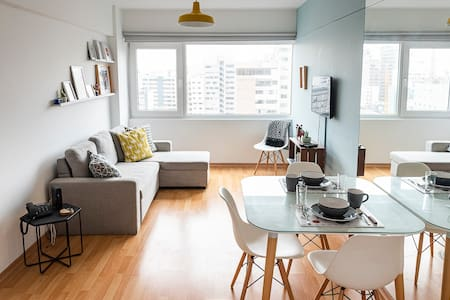 Fully equipped apt, BEST location in Miraflores!