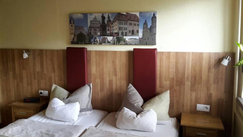 Schlafen - Sie entscheiden, ob getrennte Betten oder Doppelbett