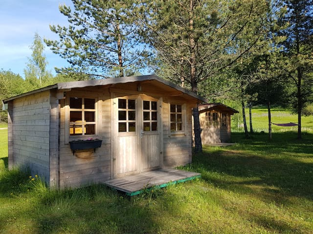 Kullipera small camping houses in Haanja