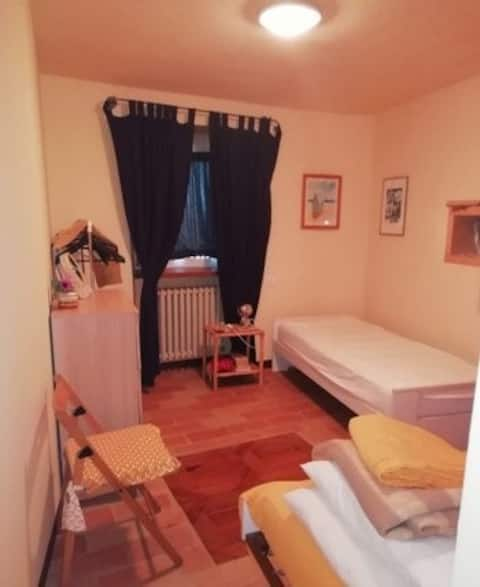 Big 2 bedroom apartment in Rome