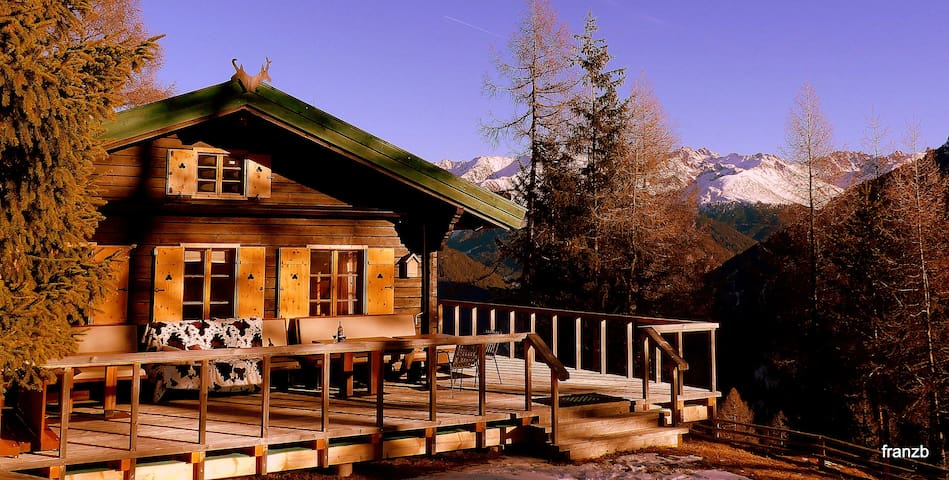 Former hunting lodge at 1.800 m altitude - Pfunds - Xalet