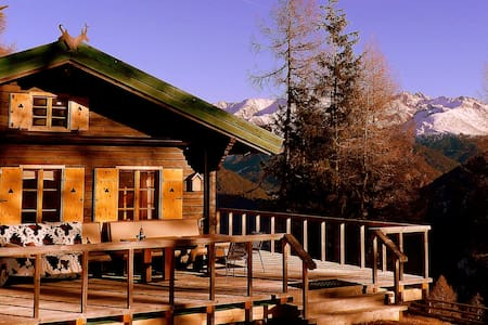 Former hunting lodge at 1.800 m altitude - Pfunds - 木屋
