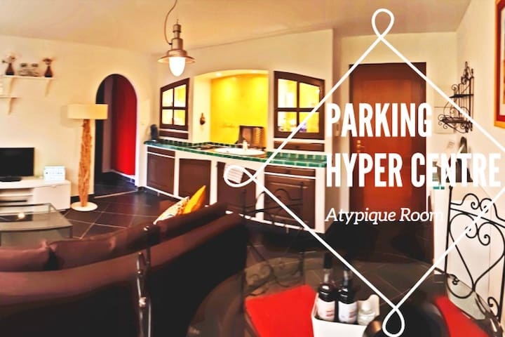 Atypique Room F2 ENTIER  HYPER CENTRE PARKING