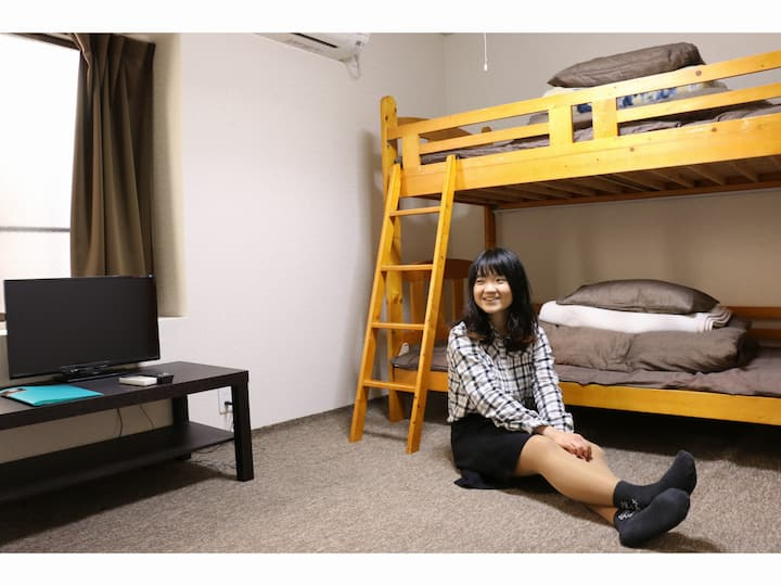 10 min from Kyoto station♡Old historic GuesthouseⅢ