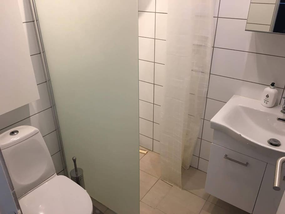 Bathroom with lock