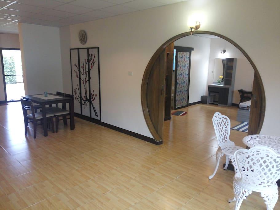 Orchid suite ห้องชุดออร์คิด ขนาด 2 ห้องนอน 100 ตร.ม.