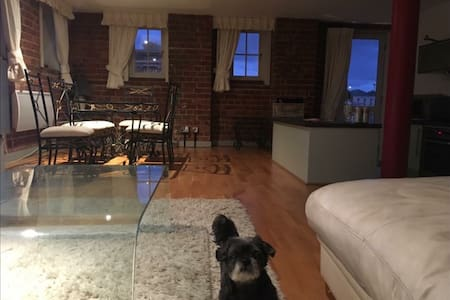 Stunning Loft Style Docks Apartment - Gloucester - Appartement