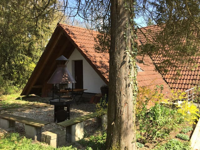 Vacation home near train to Munich, Therme Erding