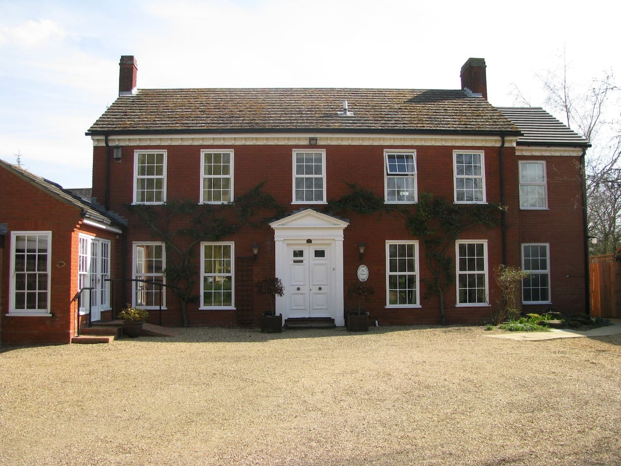 our lovely substantial house