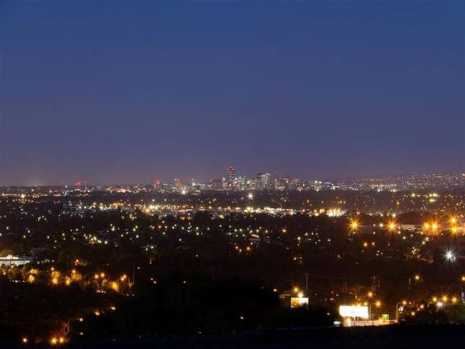 Panorama Views to the city of Adelaide