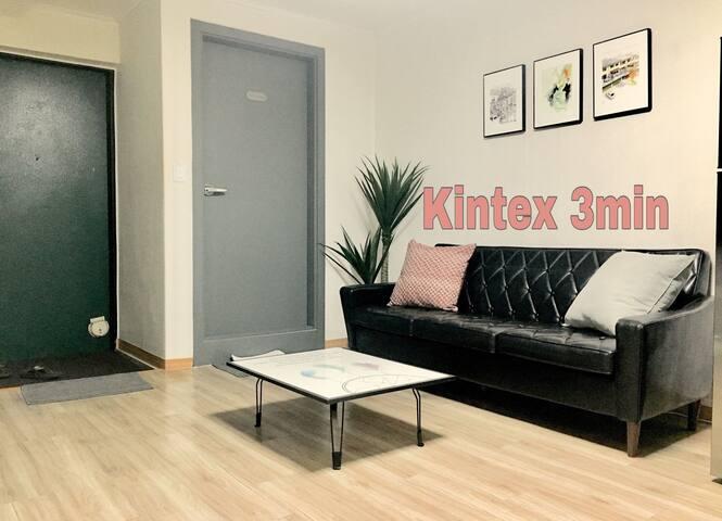 KINTEX 5 mins  Sunny & Comfy