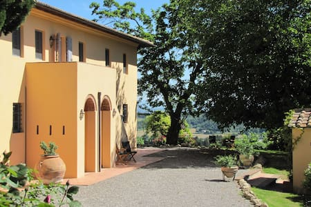 Tuscan 5 bedroom villa with pool - Castell'anselmo - Villa