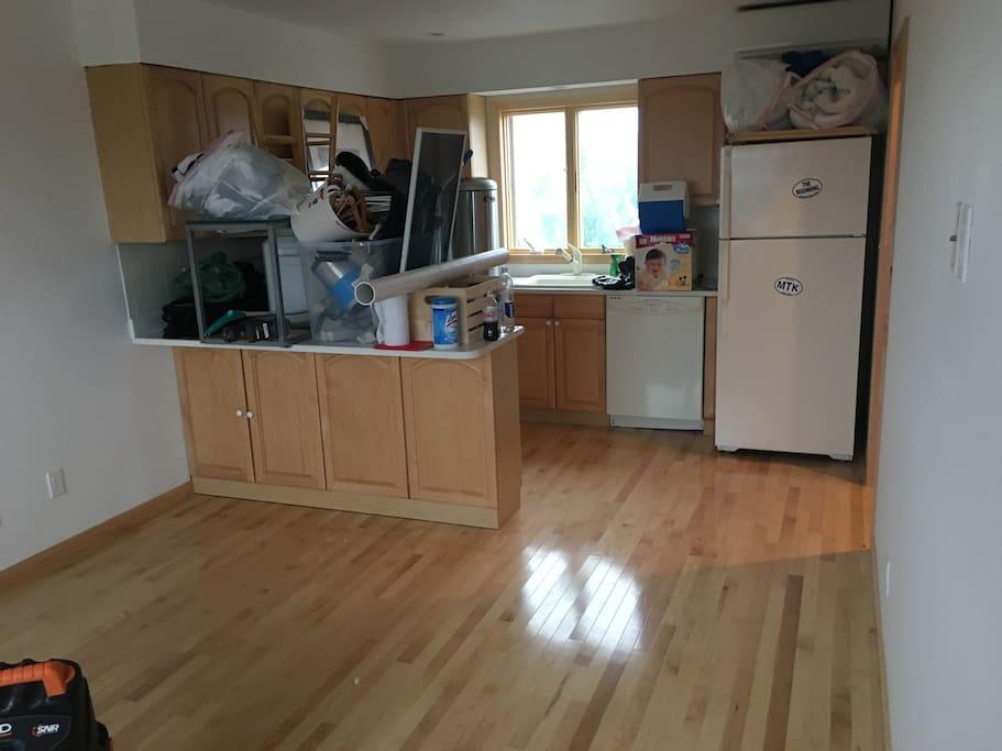 2nd floor new hardwood flooring