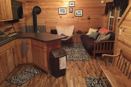 Mountainside Cabin -31 Acres! Sauna, Views !